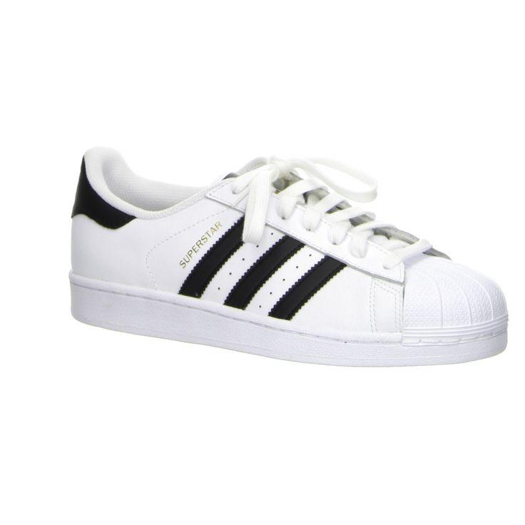 Adidas Superstar Weiß, Schwarz