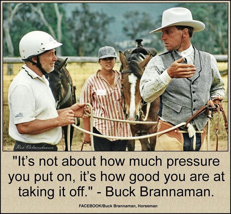 Buck Brannaman.