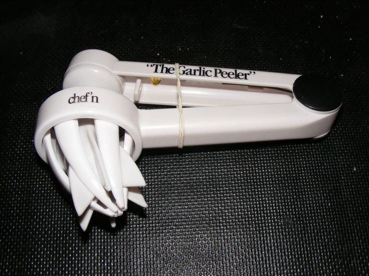 New With Box Vintage 1995 Chef'n The Garlic Peeler #Chefn