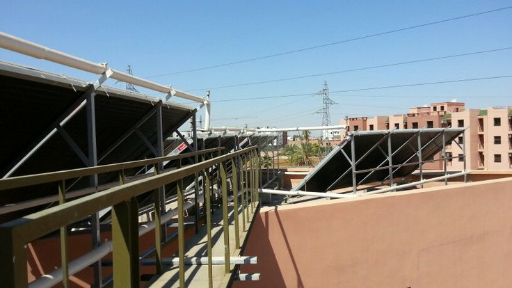 Solar thermal panels in morocco