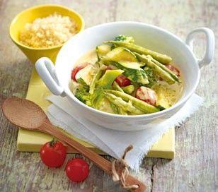 Das Rezept für Gemüse-Kokos-Curry zu Couscous und weitere kostenlose Rezepte auf LECKER.de