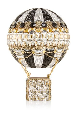 Hot air balloon clutch by JUDITH LEIBER for Preorder on Moda Operandi