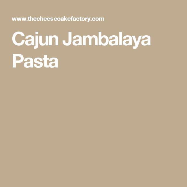 Cajun Jambalaya Pasta