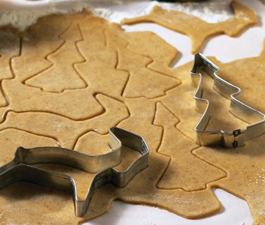 Recept: Pepparkakor (Gingerbread cookies)