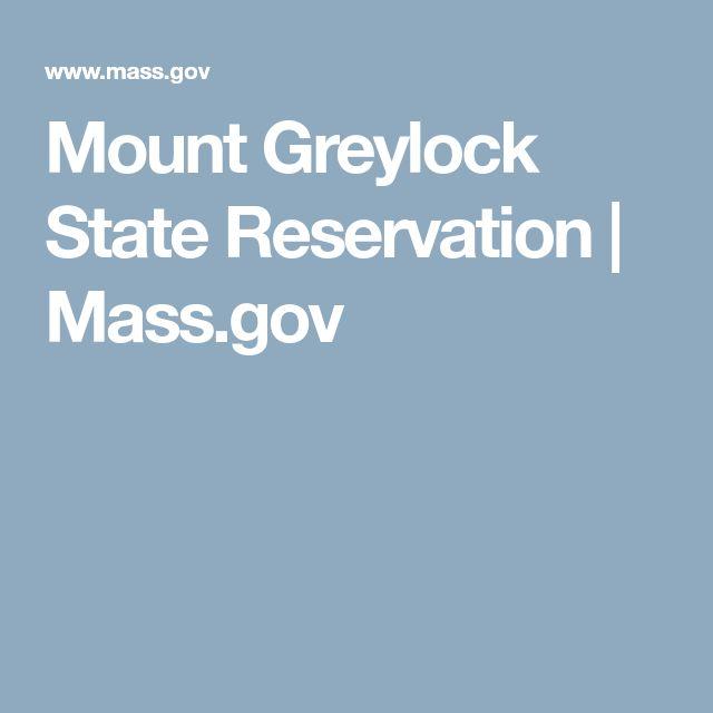 Mount Greylock State Reservation | Mass.gov