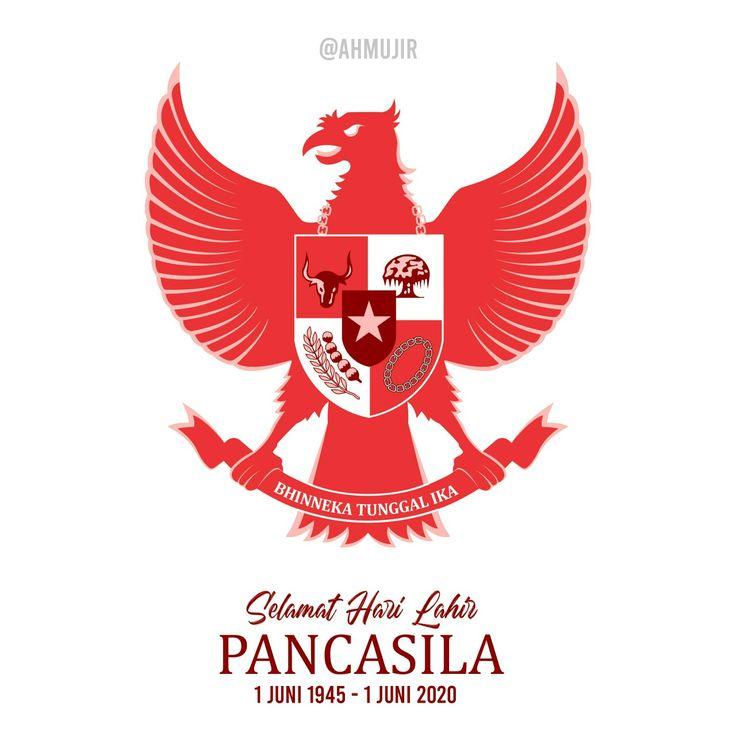 Selamat Hari Lahir Pancasila by @ahmujir