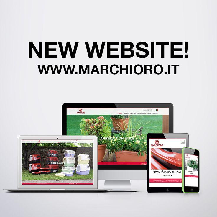 E' online il nostro nuovo sito web! Visita www.marchioro.it potrai scaricare i cataloghi #pet e #garden!