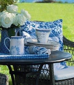 Blue & white - always lovely