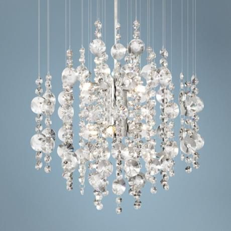 17 best images about bathroom chandeliers on pinterest - Small crystal chandelier for bathroom ...
