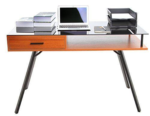 Die besten 25 computertisch glas ideen auf pinterest for Schwarzer computertisch