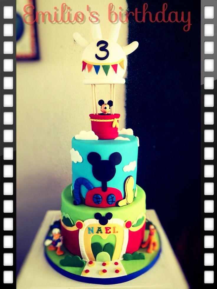 Cumpleaños numero 3 de Emilio
