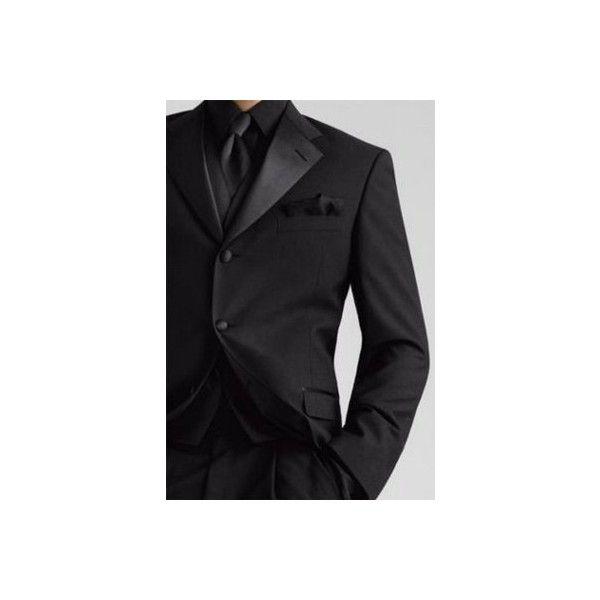 Black on Black Tux? | Weddings, | Wedding Forums | WeddingWire ❤ liked on Polyvore featuring wedding