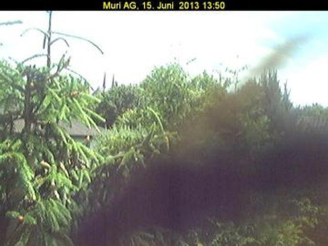 Live camera Muri mit Blick auf das Kloster Muri AG, Switzerland. Current view and daylight picture.