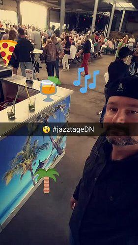 #snapchat Geschichte #jazztageDN Tag 1 | Flickr - Photo Sharing!