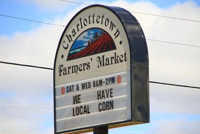 What to do in PEI #6 : Have lunch at the Charlottetown Farmers Market