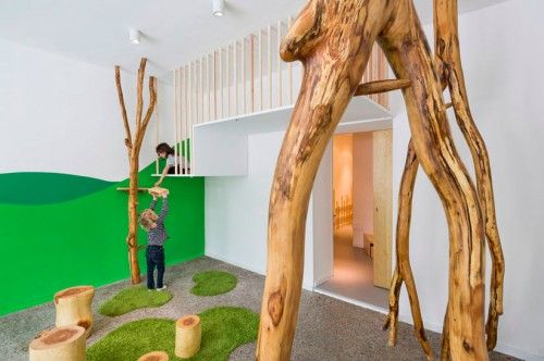 Kita Dragon Cave designed by Baukind features a natural park and forest theme.