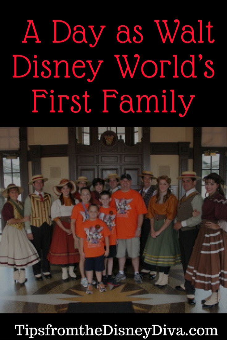 Throwback Thursday: A Day as Walt Disney World's First Family