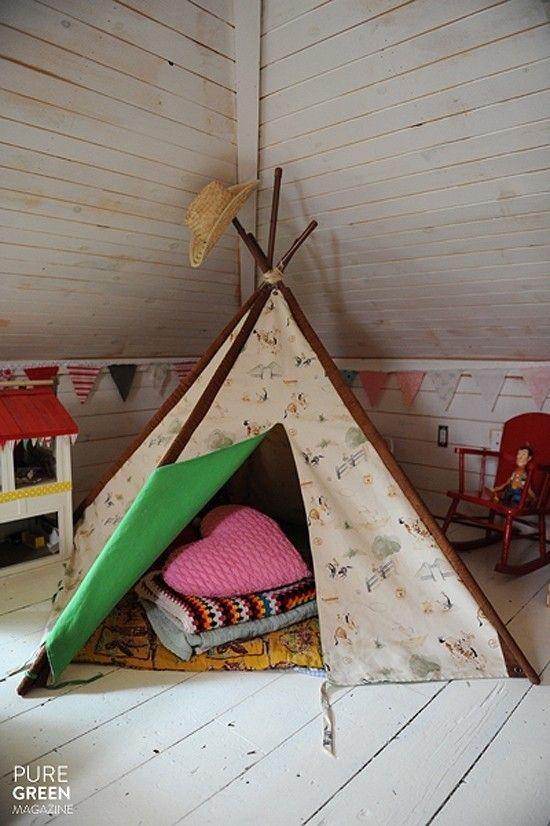 kreative einfachen Bedroom Interior Design Ideen Featuring spielen Zelten für Kinder passen alle modernen Heim-Homesthetics (18)