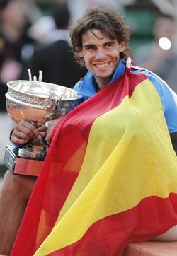Rafa Nadal wins Roland Garros (2011)