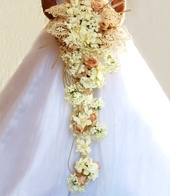 1920s inspired bouquet!: Rose Lace, Anderson Flowers, Wedding Day, Pretty Flowers, Quicksand Rose
