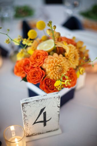 65 best images about Blue && Orange Wedding Ideas on Pinterest ...