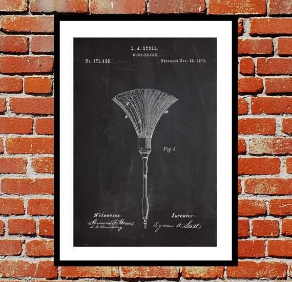 Feather Duster Patent, Feather Duster Poster, Feather Duster Blueprint,  Feather Duster Print, Feather Duster Art, Feather Duster Decor by STANLEYprintHOUSE  3.00 USD  We use only top quality archival inks and heavyweight matte fine art papers and high end printers to produce a stunning quality print that's made to last.  Any of these posters will make a great affordable gift, or tie any room together.  Please choose between different sizes and col ..  https://www.etsy.com/ca/listi..