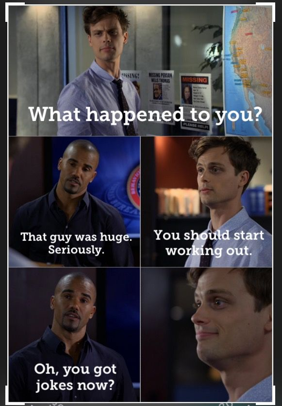 "Criminal Minds/Spencer Reid and Derek Morgan  Season: 6 Episode: 24 ""Supply & Demand"""