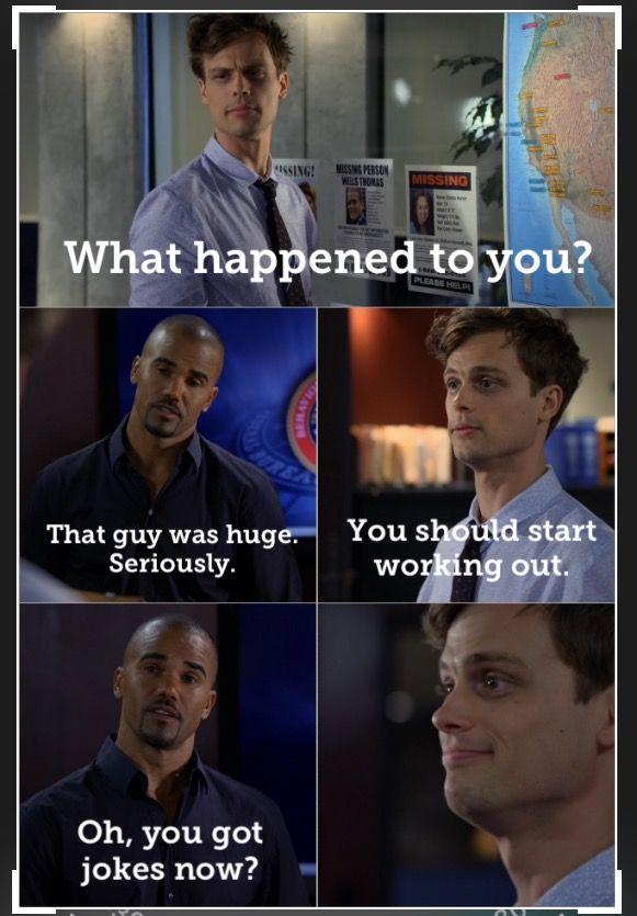 "Criminal Minds/Spencer Reid and Derek Morgan  Season: 6 Episode: 24 ""Supply & Demand"""