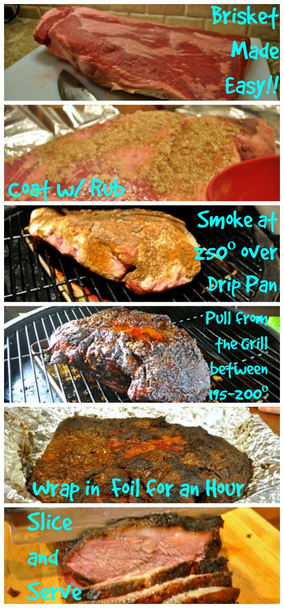 Thinking of doing Brisket for your Labor Day Barbecue. Check out our simple primer - Brisket Made Easy. Anyone can do it. Don't be intimidated.