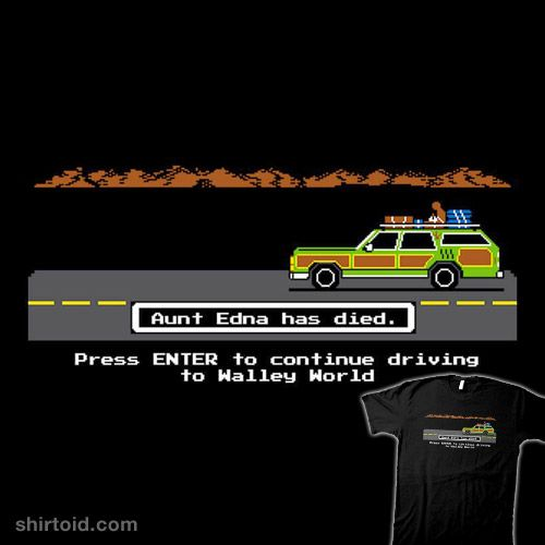 The Griswold Trail #film #gaming #movie #nationallampoonsvacation #oregontrail #ryanastle #truckster #videogame