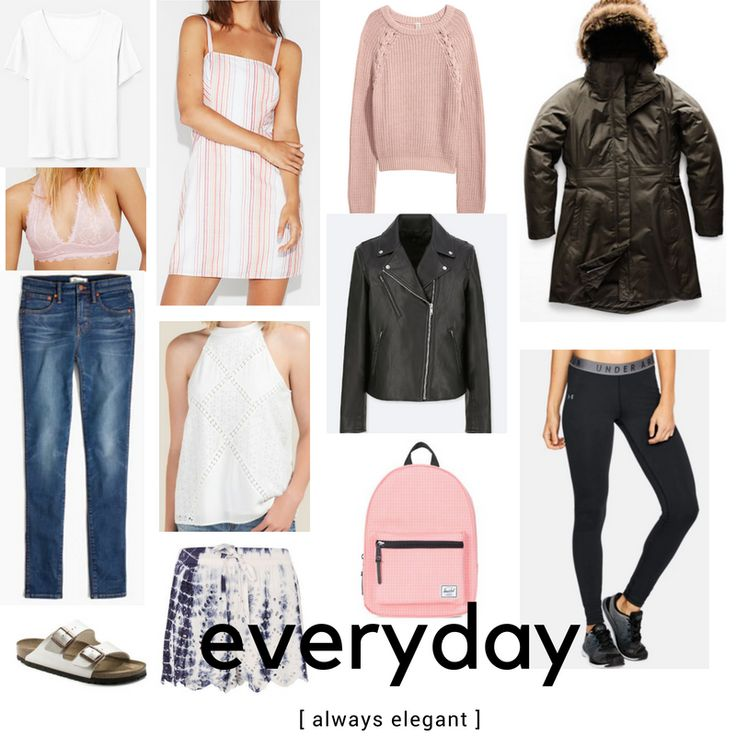 Wardrobe Essentials for College Girls – Leaving for College