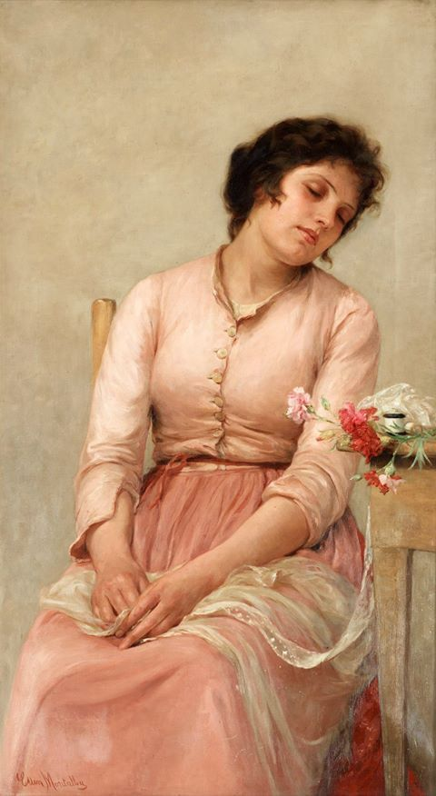 Ellen Emeline Montalba (British painter) 1842 - 1902  https://www.facebook.com/female.artists.in.history?fref=photo