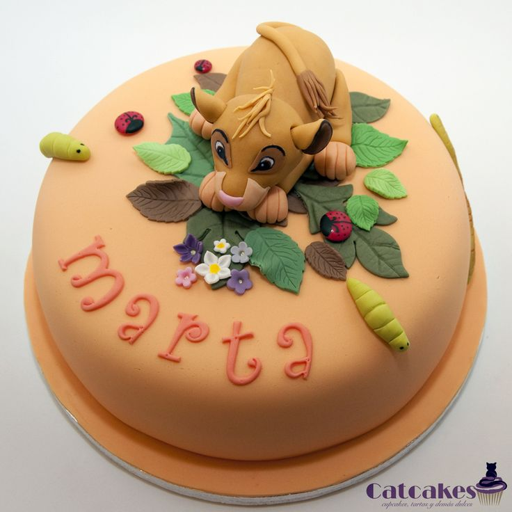 103 best Disneys Lion King Cakes images on Pinterest Lion king