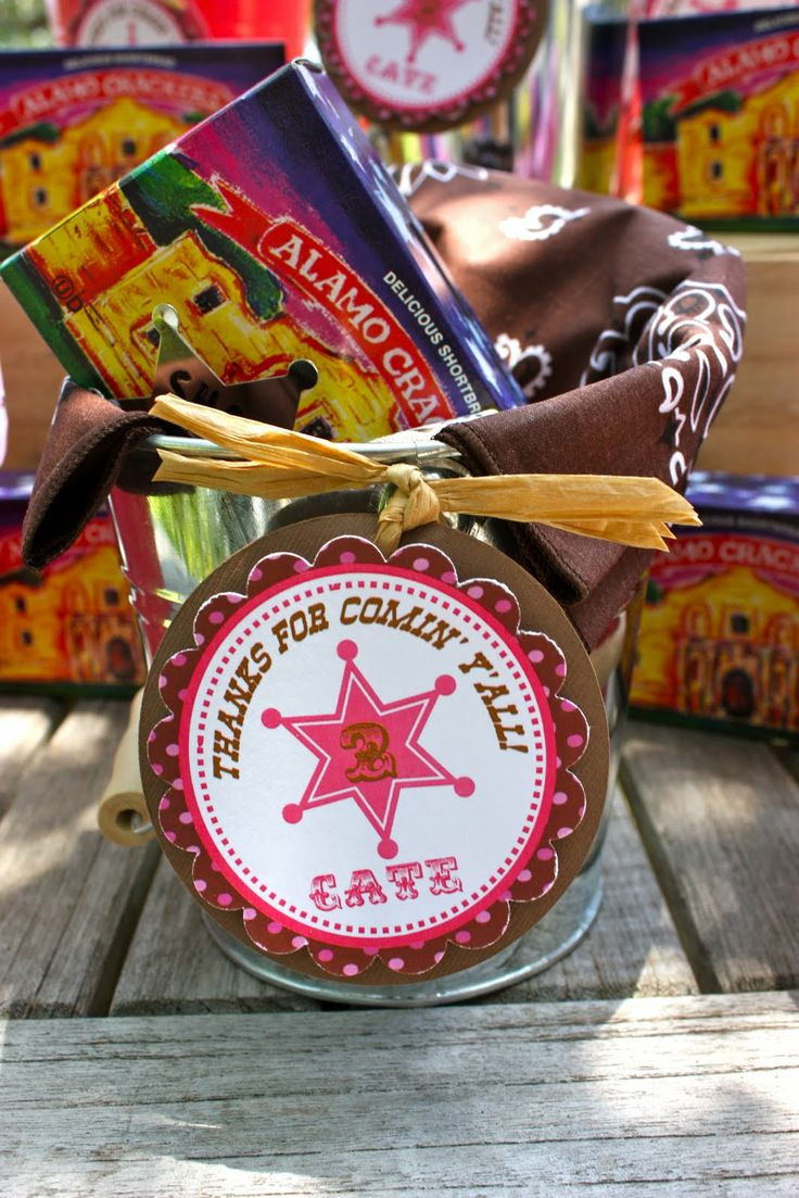 Cowboy party ideas goodtoknow - Cowgirl Cowboy Party Favors