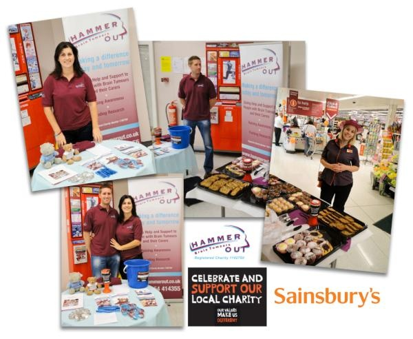 We're very proud to be Sainsbury's Local Charity of the Year in Oakley, Cheltenham.  If you're in the area, please look out for us and support us in store!