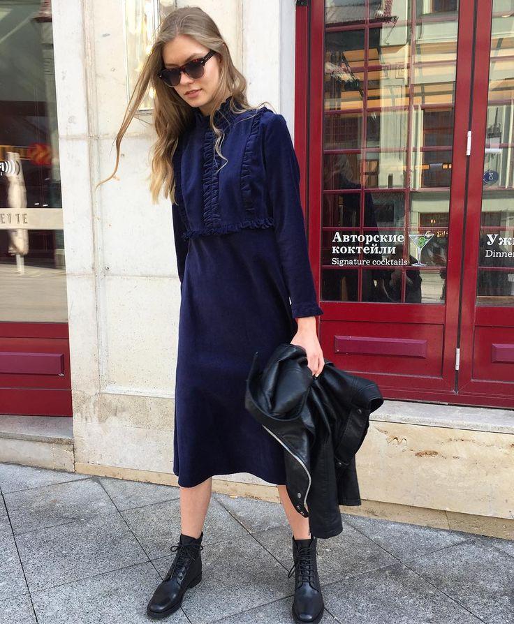 1,048 отметок «Нравится», 6 комментариев — РЕ(ПЕ)❤️ (@pe_for_girls) в Instagram: «Бархатное платье с рюшами темно-синего цвета💙💙💙цена: 20.000; Состав: 100% хлопок; размер S, М;…»