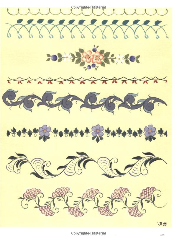 291 best Tole paint/Rosemaling/One Stroke images on Pinterest ...