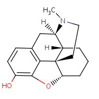 Chemical structure for Desomorphine