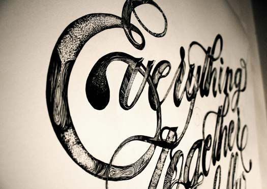 #typography #handlettering