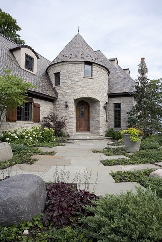 Stucco French Country Brick Design Pictures Remodel