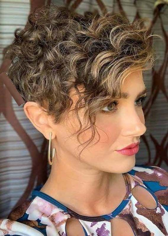 Best Short Curly Haircuts For Women To Show Off Nowadays Absurd Styles Pixie Haircut For Thick Hair Short Curly Haircuts Thick Hair Styles