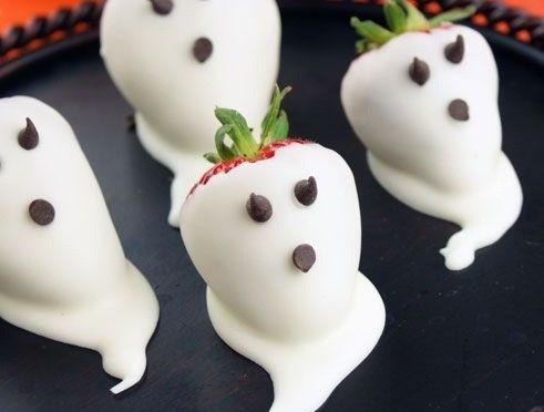 Strawberry Ghosts..