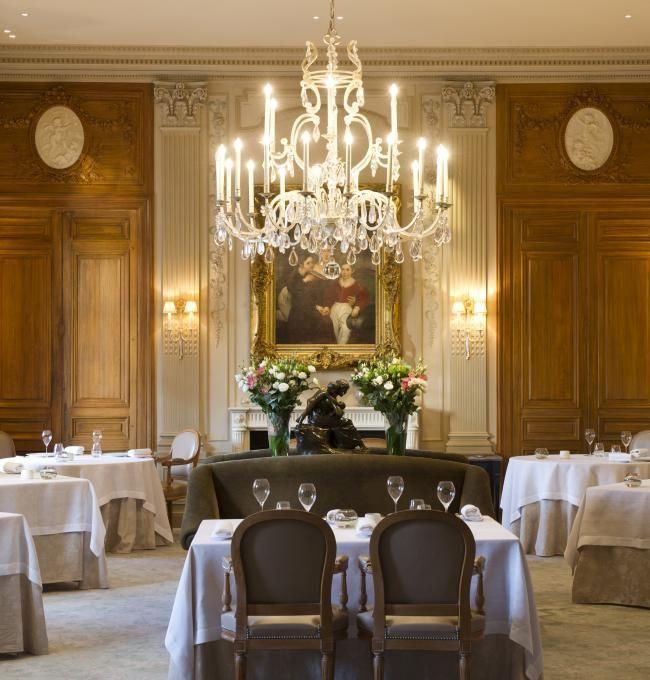 Domaine Les Crayeres Restaurant Chateau Hotel Restaurant Michelin Star Chef