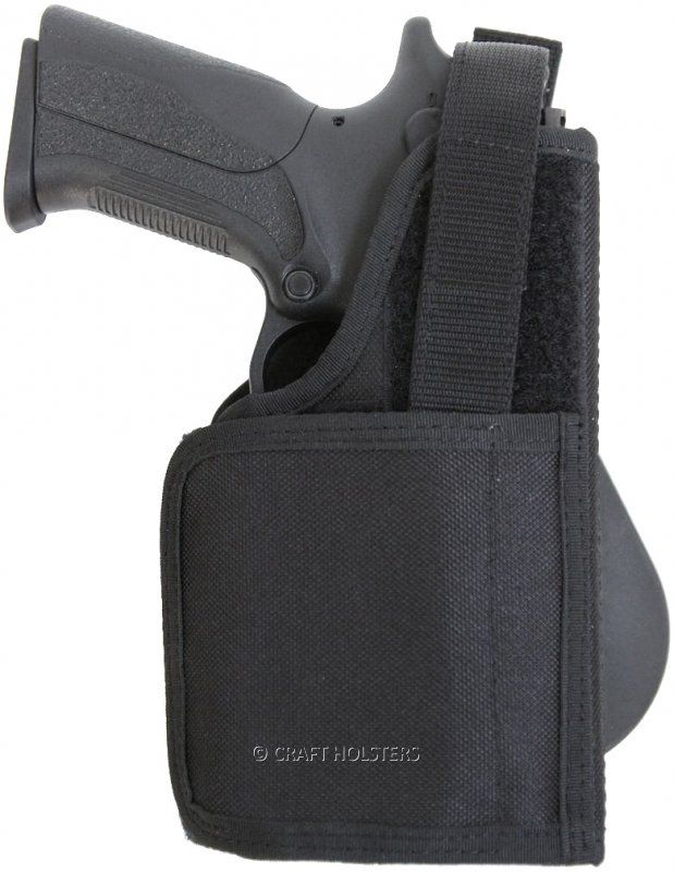 Paddle Holster For Gun With Laser/light | Craft Holsters®
