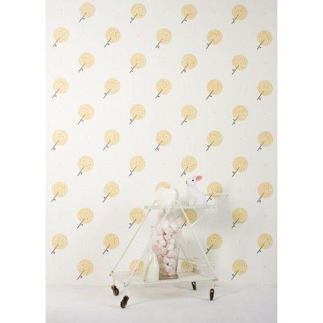 Wallpaper - Yellow Dandelions by Bartsch