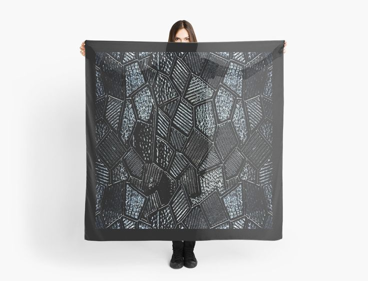 Dark Grey Mosaic Glass