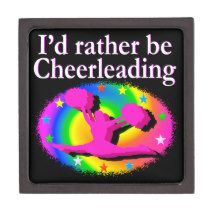 RATHER BE CHEERLEADING PREMIUM JEWELRY BOXES http://www.zazzle.com/mysportsstar/gifts?cg=196898030795976236&rf=238246180177746410 #Cheerleading #Cheerleader #Cheerleadinggifts #Lovecheerleading