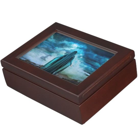 Celtic Goddess Cessair Wooden Keepsake Box