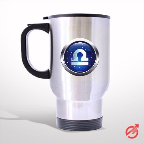 Zodiac Libra Travel Mug