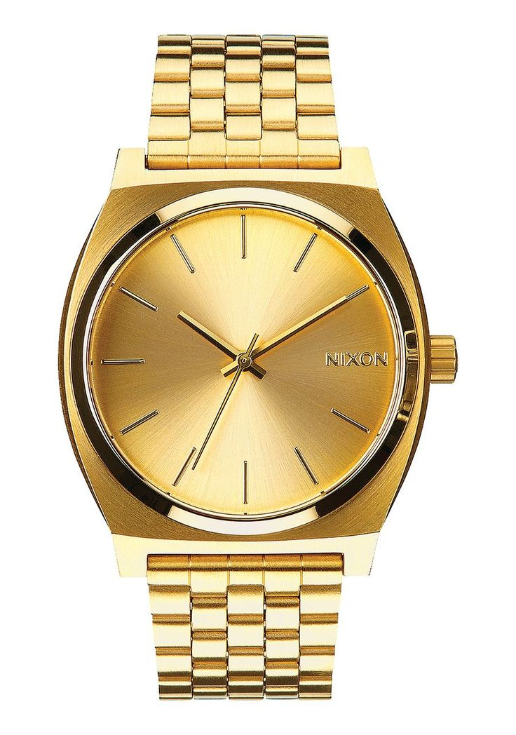 Nixon The Time Teller Gold Watch